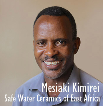 Providing safe drinking water though the manufacturing and distribution of the Maji Salama ceramic filter.