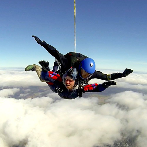 Want to skydive at 15,000 feet?